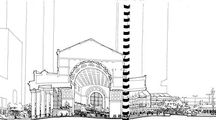 Union Station as Winter Garden