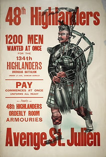 48th Highlander Recruitment Poster