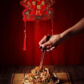 Vegan Chicken Chow Mein - Hong Kong Style