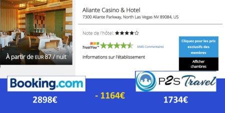 P2STravel: Aliente Casino Hotel Las Vegas