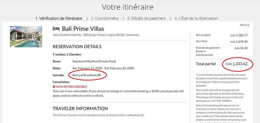 réservation 7 nuit pour 2 personnes à l'hôtel Bali Prime Villas à Bali 4* / Villa avec piscine privée - Petits déjinclus   1782€ sur Hotels;com  1334€ sur Thehotelsite soit 448€ moins cher sur THehotelsite !!! Environ 25% moins cher ...