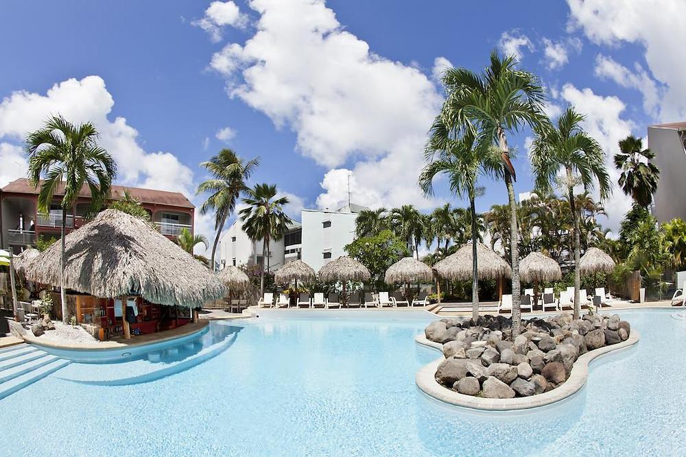 hotel la pagerie Martinique pas cher avec P2S Travel