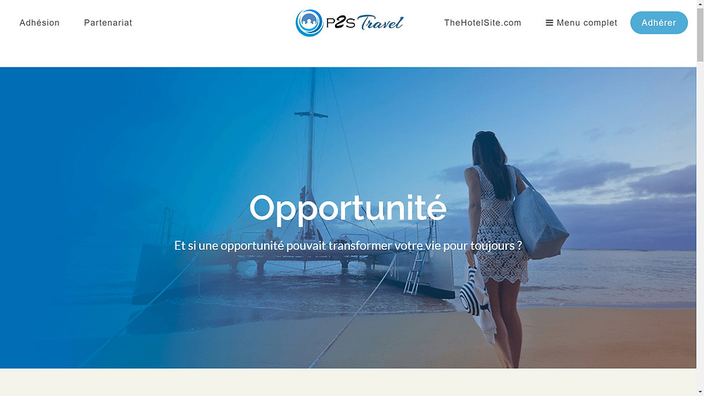 activité mlm voyage 2020 revenu complémentaire