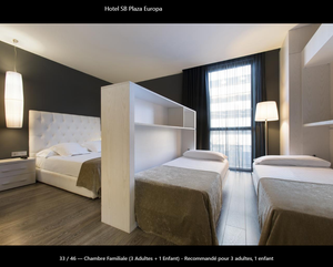 hôtel SB Plaza Europa Barcelone