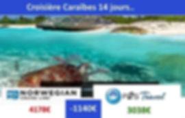 P2STravel: Croisière Caraïbes 14 nuits 2 personnes