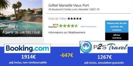 P2STravel: hôtel Sofitel Marseille Vieux port