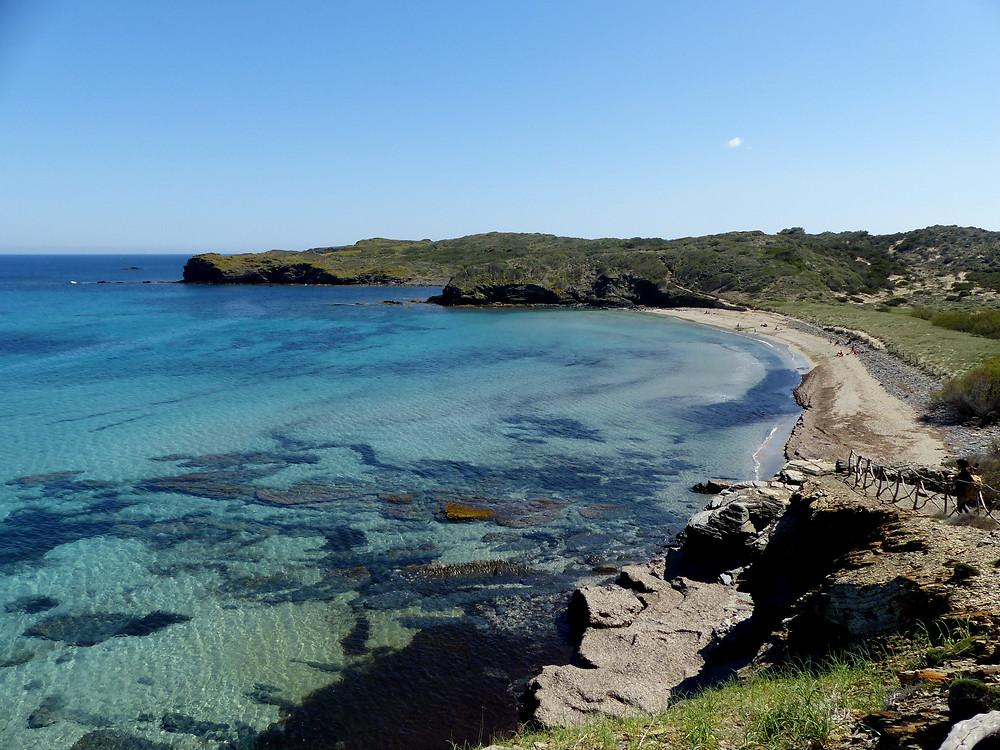 Photo de vacances à Minorque, une autre destination vacances pas chère que je vous conseille !