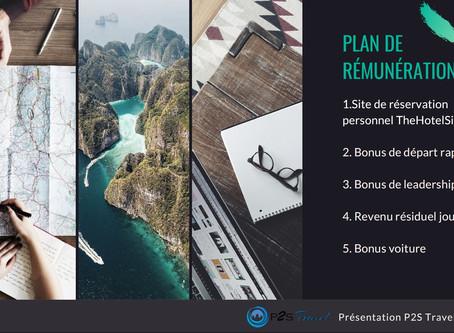 Plan de rémunération P2S Travel 2020: Découvrez le Nouveau Plan de rémunération P2S Travel 2020