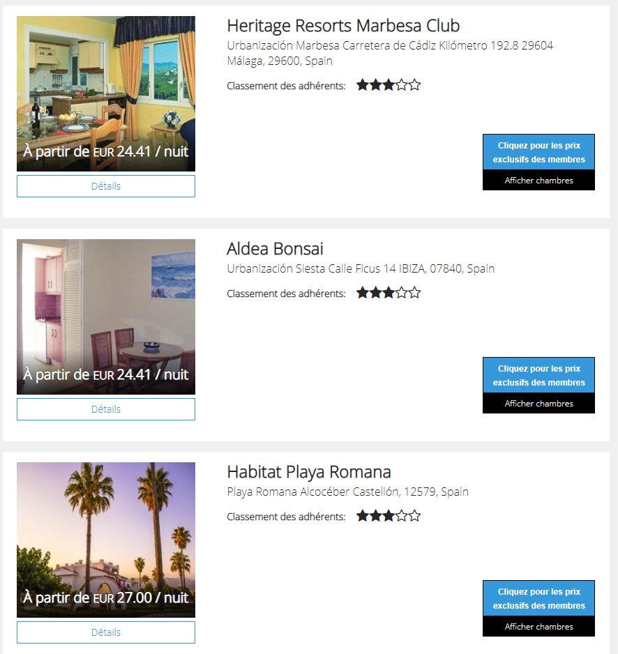 p2s travel Dreamcation Getaways Espagne