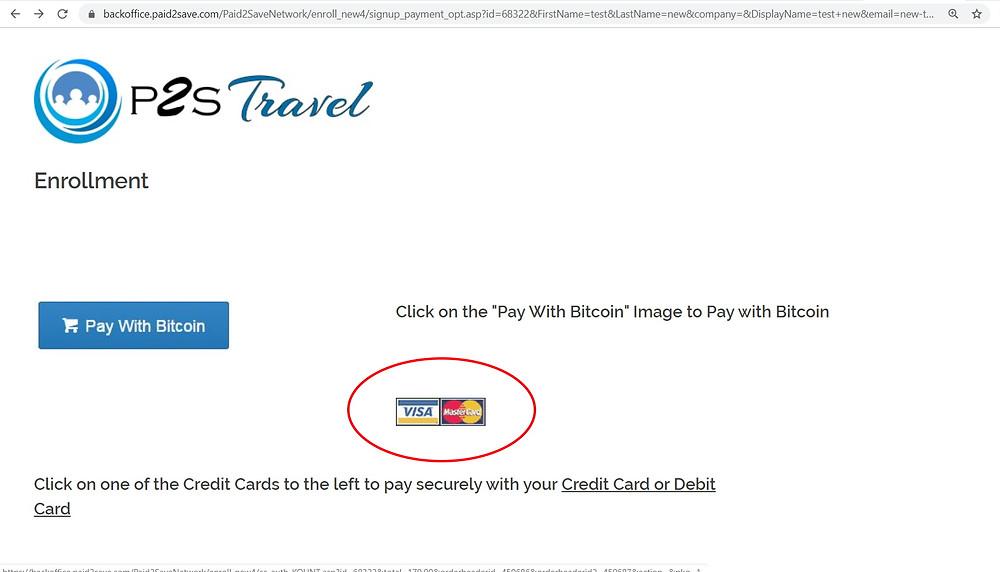 Comment s'inscrire à P2S Travel / Tuto inscription P2S Travel