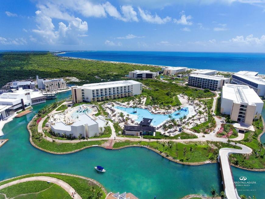 WeTrip de P2S Travel à Cancun au Mexique à l'hôtel 5 étoiles Grand Palladium Costa Mujeres