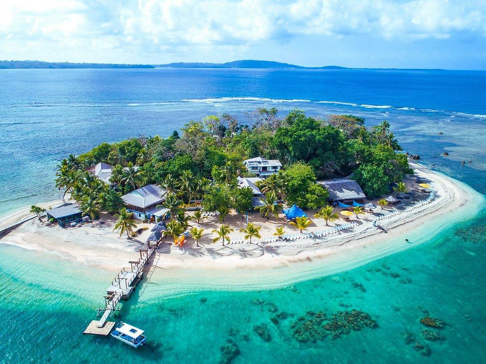 Hideaway Island Resort à Port Vila - Vanuatu P2s Travel
