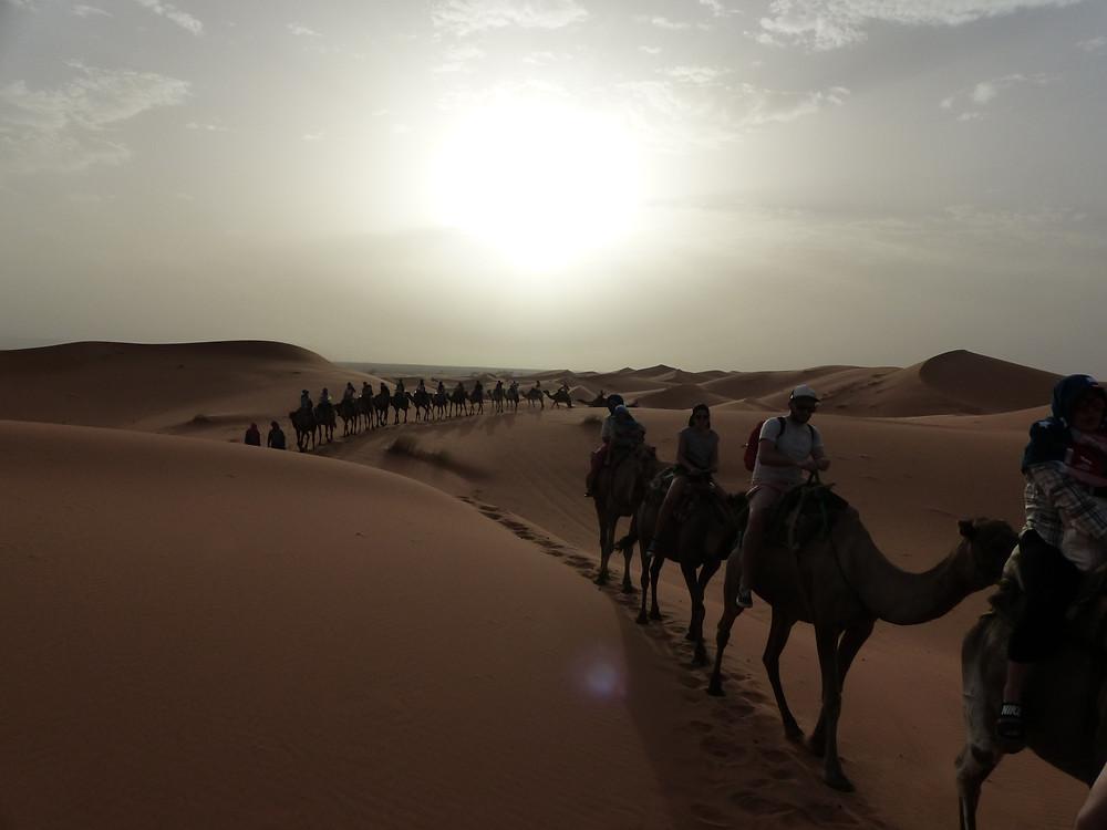 Petite photo de vacances au Maroc.. Destination vacances vraiment pas chère.. On a adoré!
