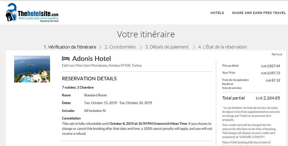 hotel 5 étoile all inclusive Antalya pas cher avec TheHotelSite de P2S Travel