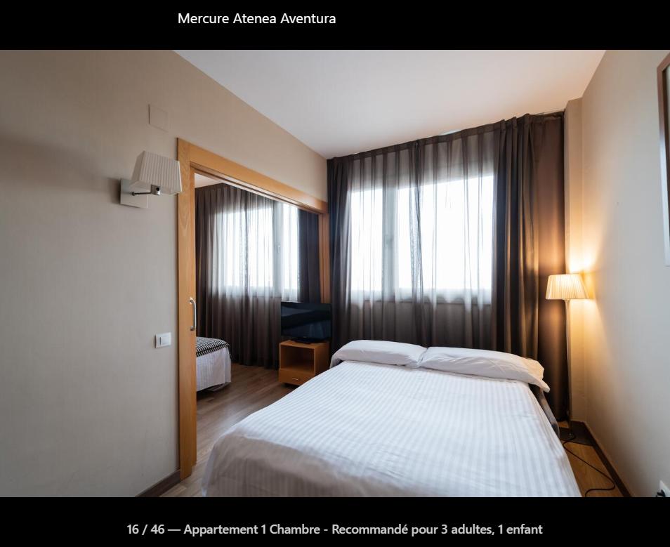 Hôtel Mercure Atenea Aventura (port aventura)