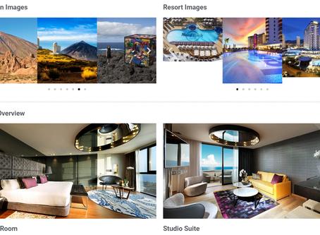 Séjours de luxe à prix cassé au Hard Rock Hotel Tenerife (hôtel 5 étoiles)  avec P2S Travel..