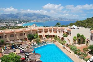 vacances Espagne pas chères avec p2s Travel: Studio 4 pers. 8 au 15 août = 138€