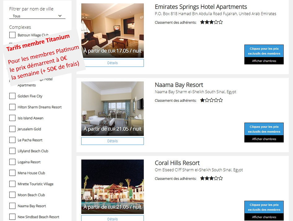 p2s travel Dreamcation Getaway Emirats Arabes Unis et Egypte