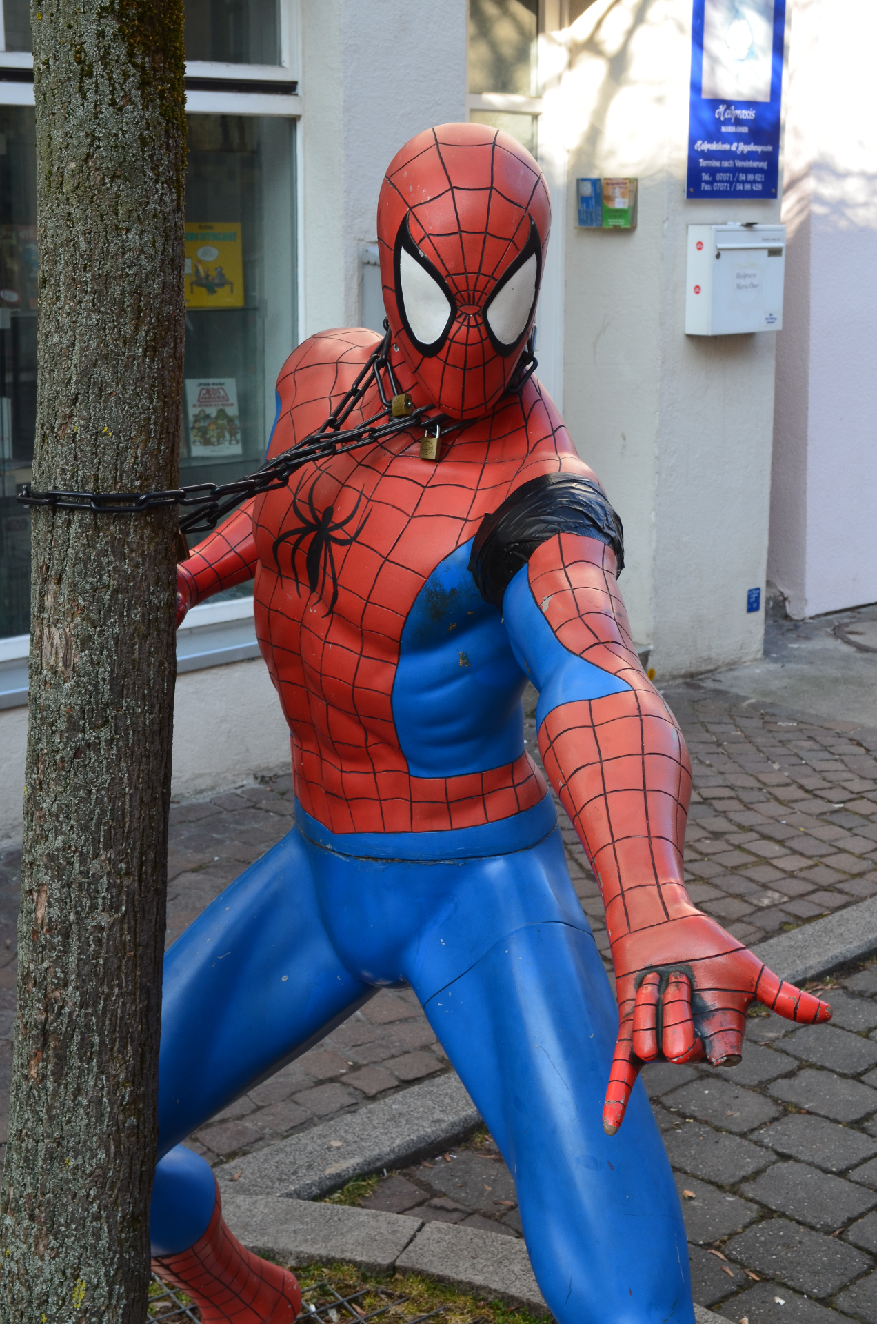 Spiderman in Tübingen