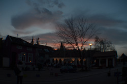 Sunset in Zemun
