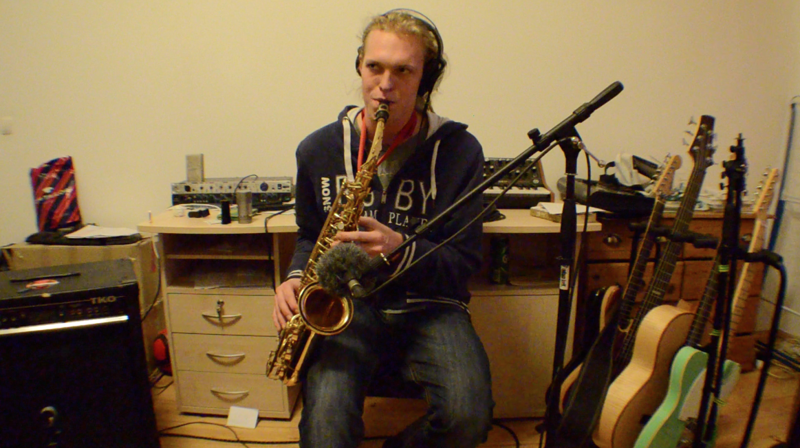 Jakob on the Sax