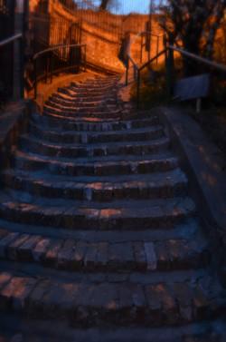 Stairs in Zemun