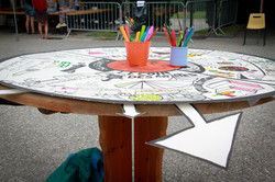 Table d'Orientation de coloriage