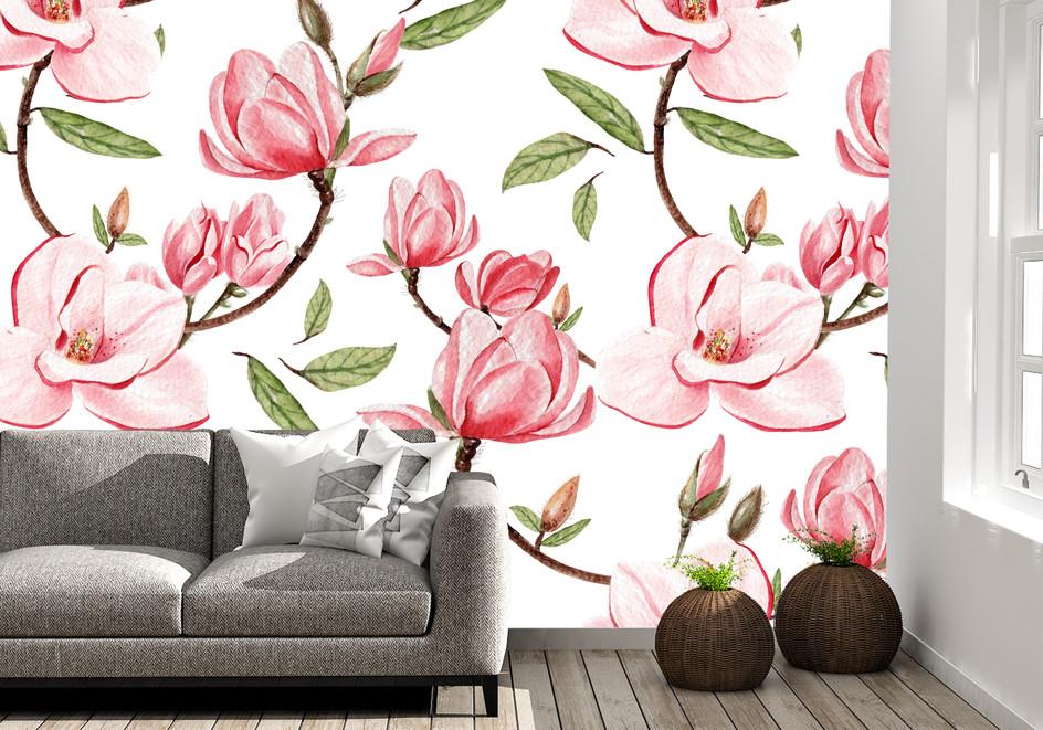 Item #1289 Pink Flowers
