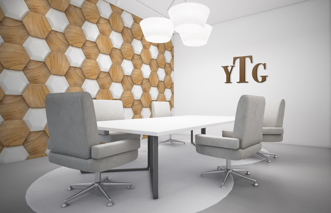 Wood Hexagon Abstract02