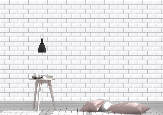 Item # 1457 White Brick