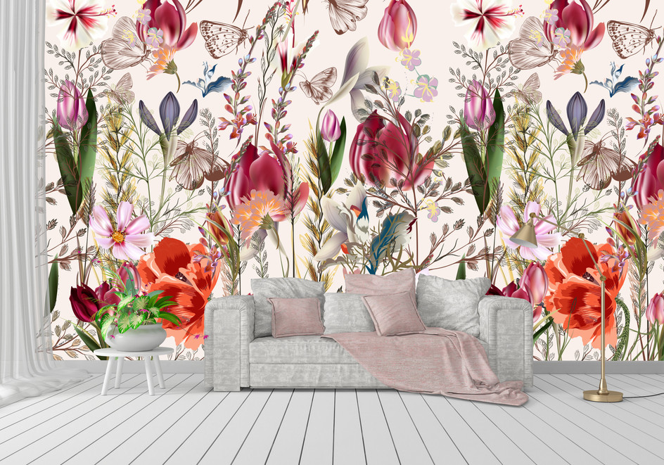 Item #1276 Colorful Flowers