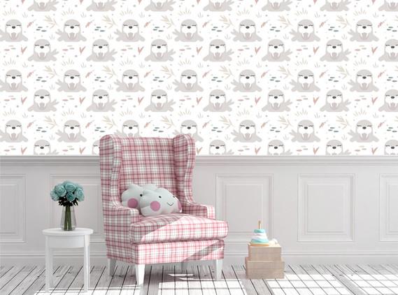 Baby Room Animal Pattern-05