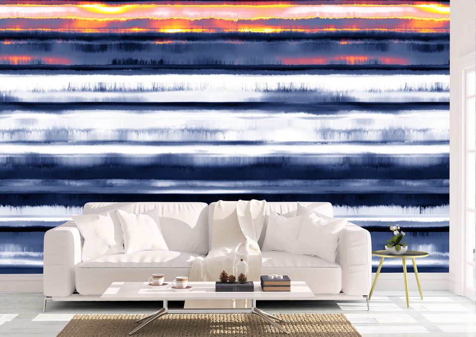 Item #1290 Abstract Sunset