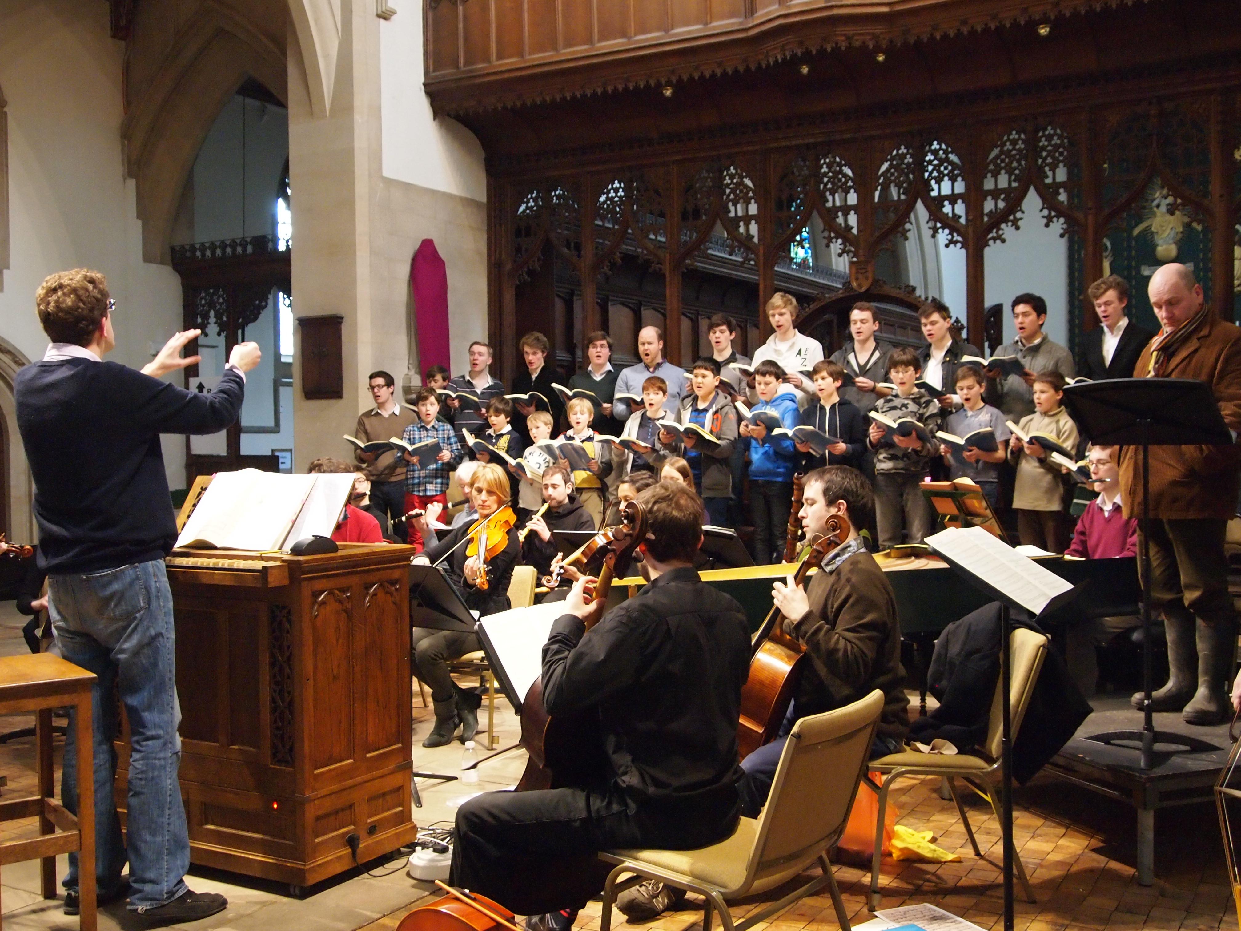 Magdalen Choir St. John Passion