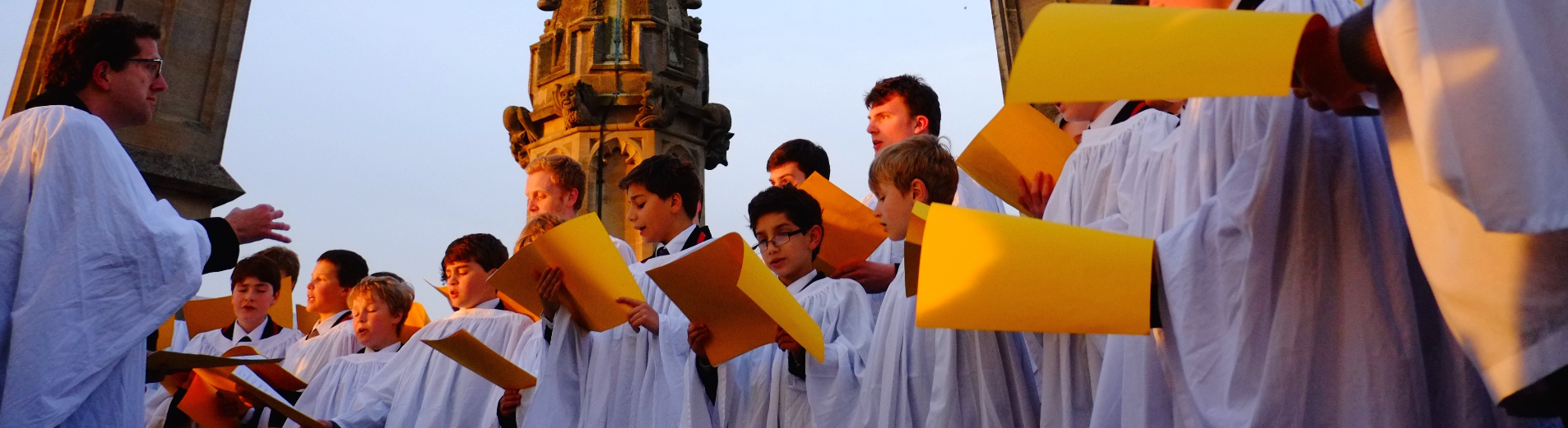 Magdalen College Choir May Morning