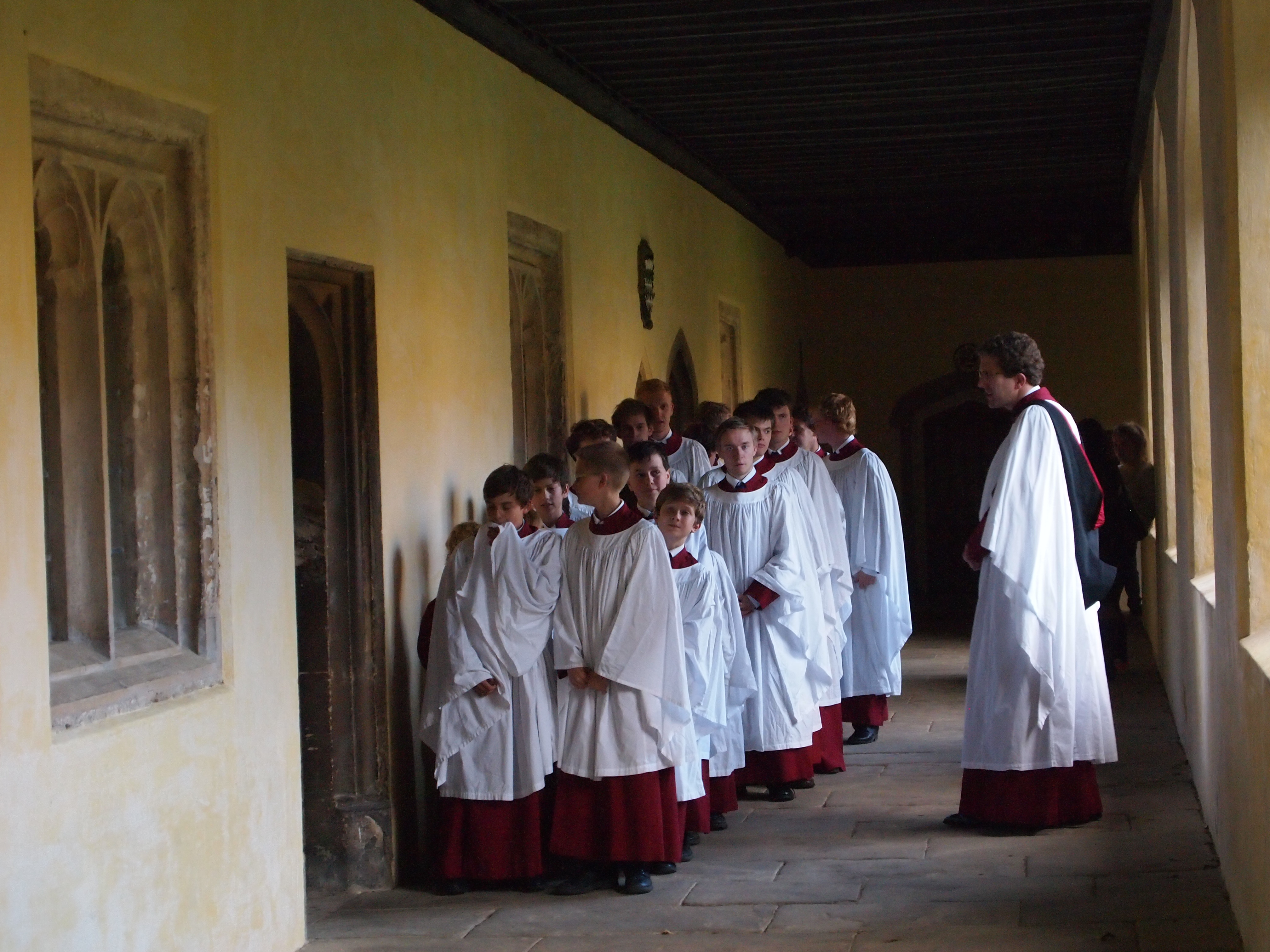 Magdalen Choir in the Cloisters