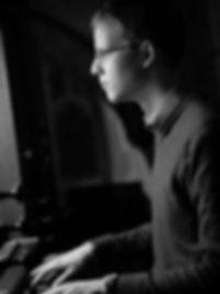 Alex Pott, assistant organist at Magdalen