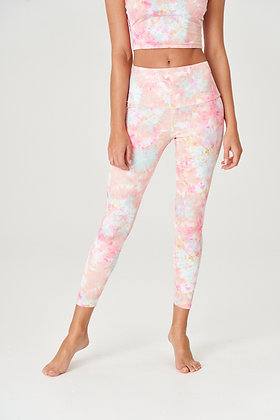 Onzie High Rise Legging Rose All Day