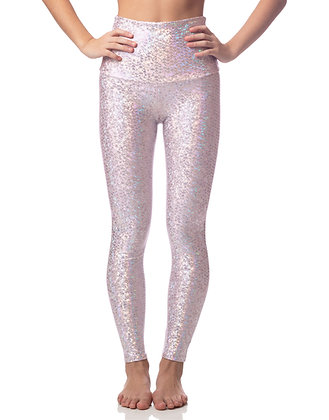 Emily Hsu Pink Mermaid Sneaker Legging