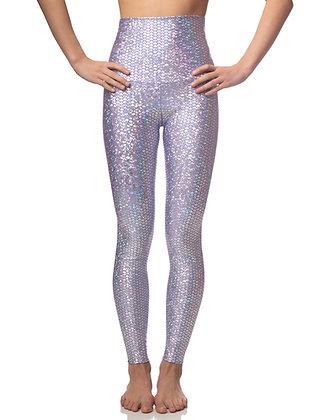 Emily Hsu Lavender Mermaid Leggings