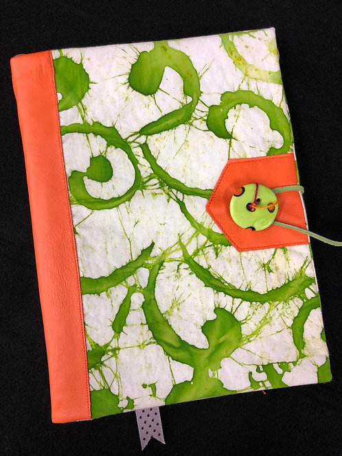 Painterly swirl journal cover
