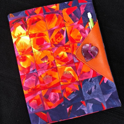 Vibrant journal cover