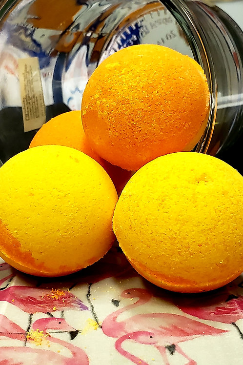CBD infused Citrus Bliss Bath bomb 3.5oz