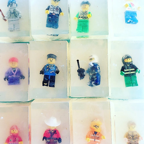 Mix and match Lego soaps