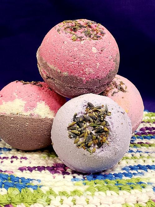 CBD infused Lavender Bath bomb 3.5oz