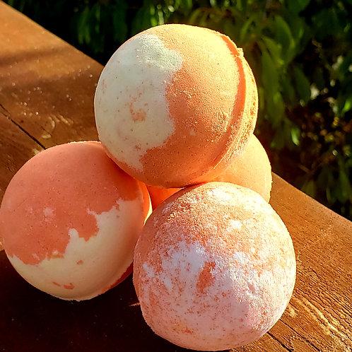 CBD infused Mango Bath bomb 3.5oz