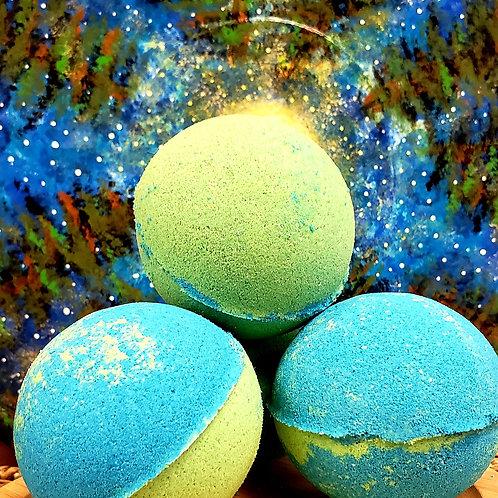 CBD infused Eucalyptus Mint Bath bomb 3.5oz