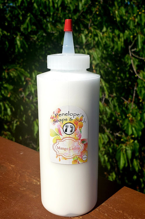12oz Mango lotion refill