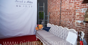 Peter & Sarah's Charming Red Capet Photo Booth