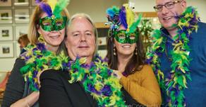 Wyandot Board Appreciation Party - Mardi Gras Themed Party